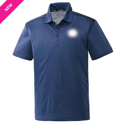 マッピングメッシュ半袖ポロシャツ