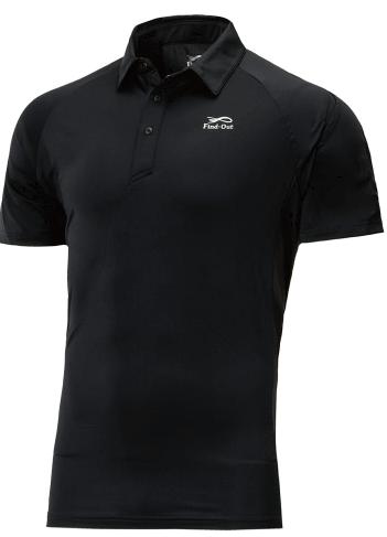冷感アクティブストレッチ半袖ポロシャツ