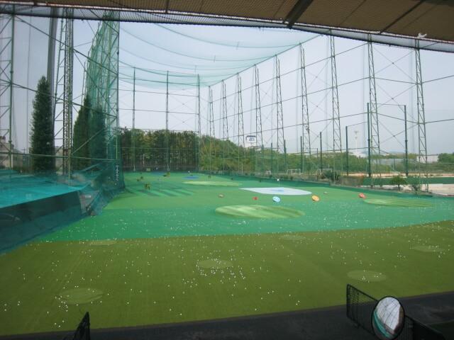 ゴルフ打ちっぱなし練習場