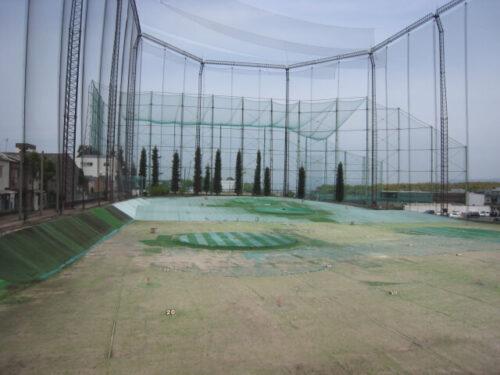 2階ゴルフ打ちっぱなし練習場